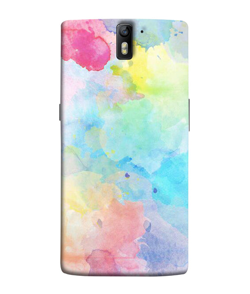 One Plus 1 Watercolour Mobile Cover