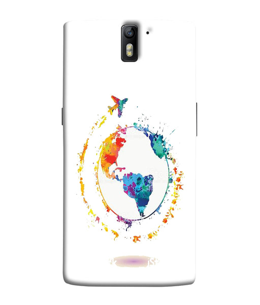 One Plus 1 World Mobile Cover