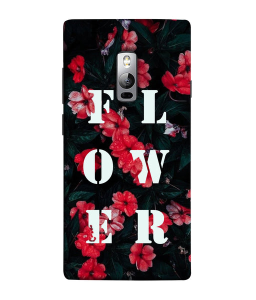 One Plus 2 Flower Mobile Cover