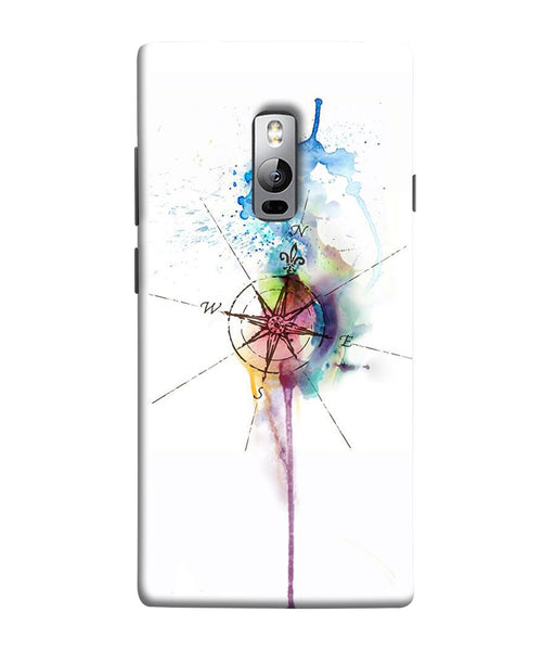 One Plus 2 Directions Watercolor Mobile Cover