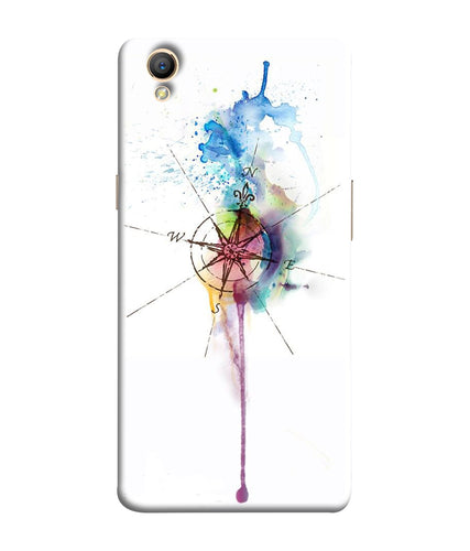 Oppo A37 Directions Watercolor Mobile Cover