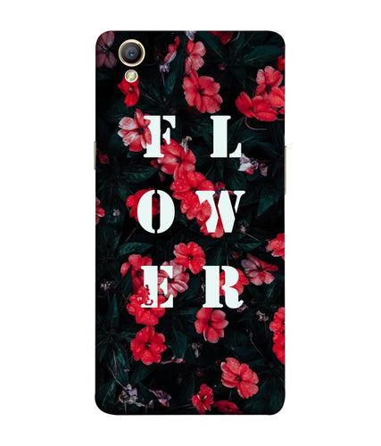 Oppo A37 Flower Mobile Cover