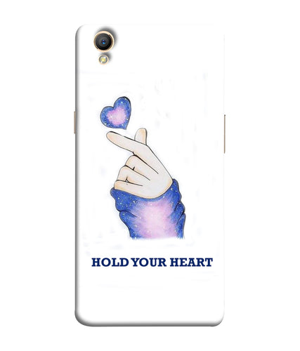 Oppo A37 Hold Your Heart Mobile Cover