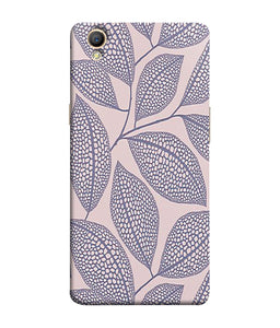 Oppo A37 Leaf Print Mobile Cover