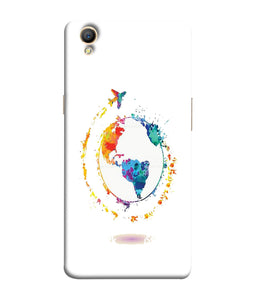Oppo A37 World Mobile Cover