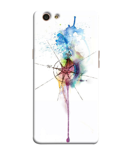Oppo F1S Directions Watercolor Mobile Cover