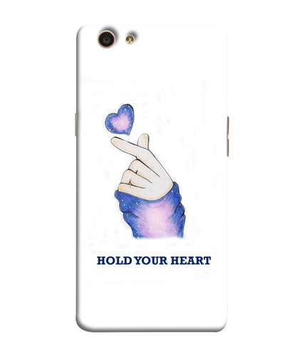 Oppo F1S Hold Your Heart Mobile Cover