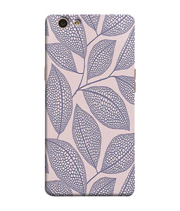 Oppo F1S Leaf Print Mobile Cover