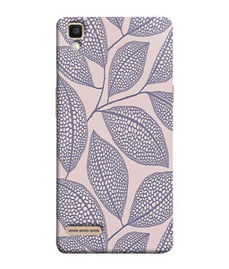 Oppo F1 Leaf Print Mobile Cover