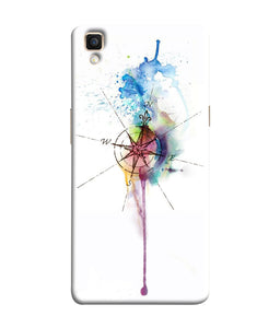 Oppo F1 Plus Directions Watercolor Mobile Cover