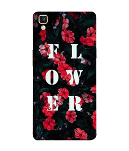 Oppo F1 Plus Flower Mobile Cover