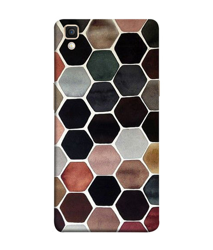Oppo F1 Plus Hexa Mobile Cover