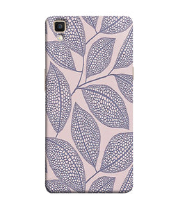 Oppo F1 Plus Leaf Print Mobile Cover