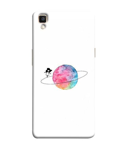 Oppo F1 Plus Universe Mobile Cover
