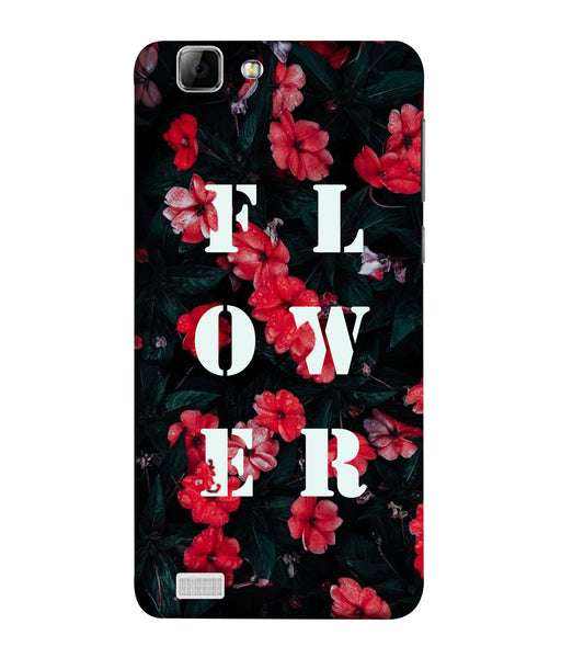 Vivo V1 Floral Mobile Cover