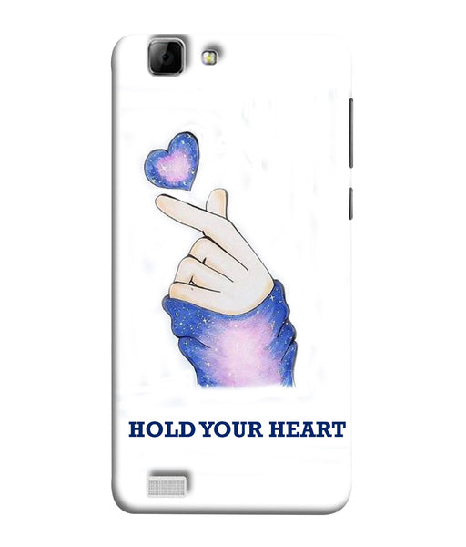 Vivo V1 Hold Your Heart Mobile Cover