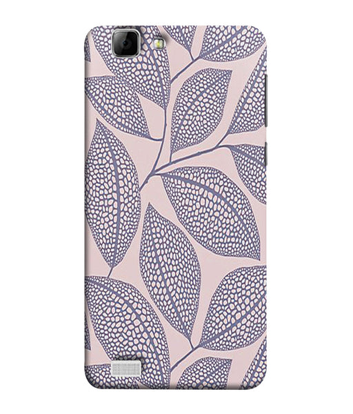 Vivo V1 Leaf Print Mobile Cover