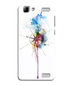 Vivo V1 Watercolor Directions Mobile Cover