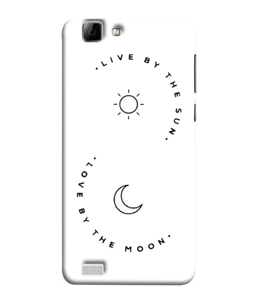 Vivo V1 Sun Moon Mobile Cover