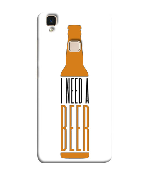 Vivo V3 Beer Mobile Cover