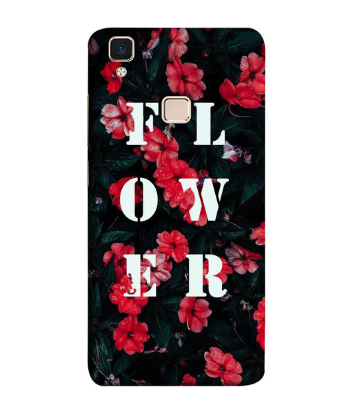 Vivo V3 Floral Mobile Cover