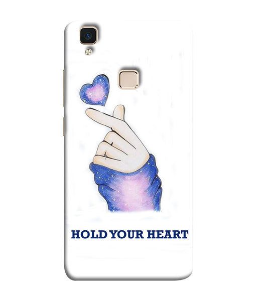Vivo V3 Hold Your Heart Mobile Cover