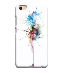 Vivo V5 Watercolor Directions Mobile Cover
