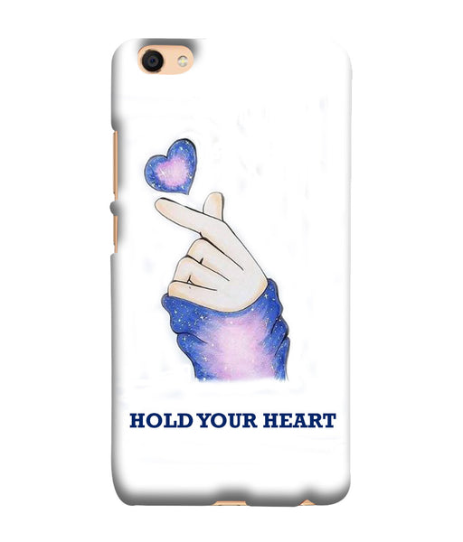 Vivo V5 Plus Hold Your Heart Mobile Cover