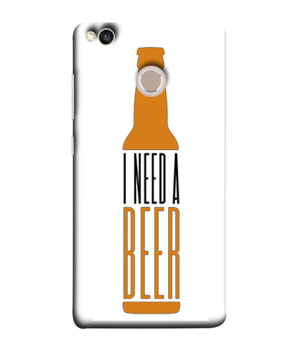 Xiaomi Redmi 4 Beer mobile cover