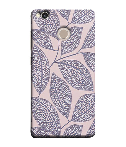 Xiaomi Redmi 4 Leaf Print mobile cover