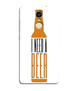 Xiaomi Redmi Note 5 Beer mobile cover