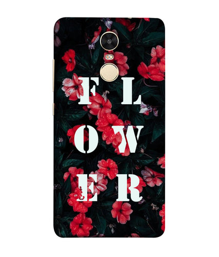 Xiaomi Redmi Note 5 Floral mobile cover