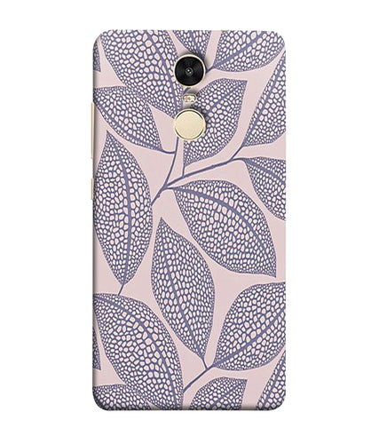 Xiaomi Redmi Note 5 Leaf Print mobile cover