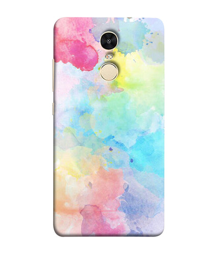 Xiaomi Redmi Note 5 Watercolour mobile cover