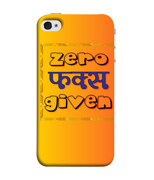 Apple Iphone 5s Zero Fs Given Mobile cover