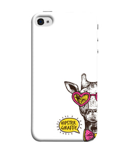 Apple Iphone 5s Hipster Giraffe Mobile cover