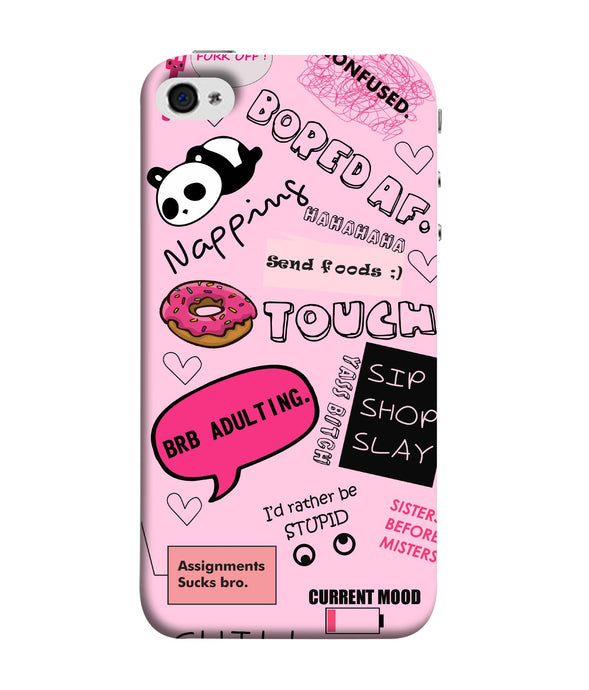 Apple Iphone 5s Doodles Mobile cover