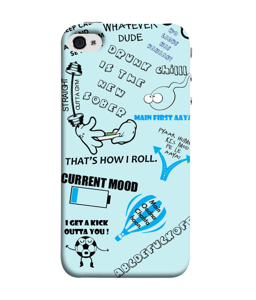 Apple Iphone 5s Doodle Mobile cover
