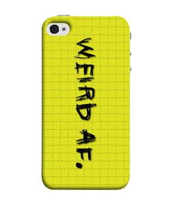 Apple Iphone 5 Weird AF mobile cover