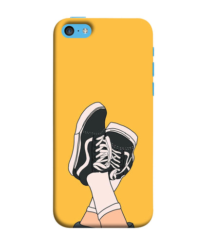 Apple Iphone 5c Shoes mobile cover