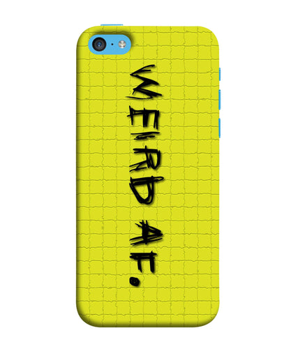 Apple Iphone 5c Weird AF mobile cover