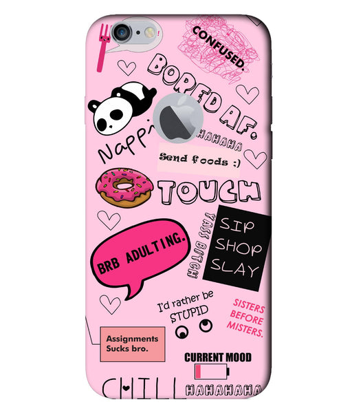 Apple Iphone 6 Doodles mobile cover