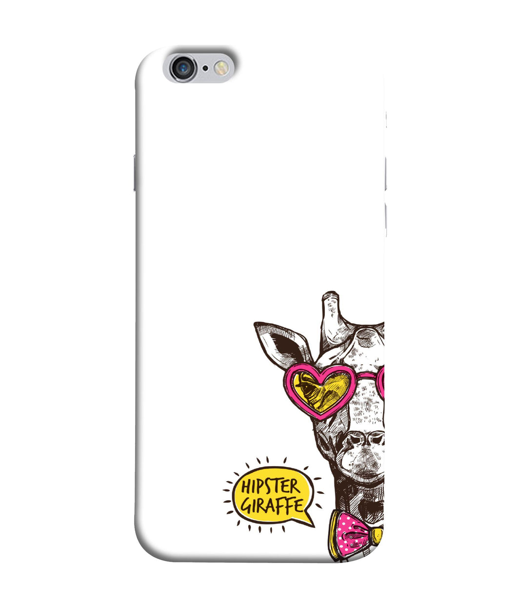 Apple Iphone 6 Plus Hipster Giraffe Mobile cover