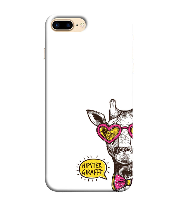 Apple Iphone 8 Plus Hipster Giraffe mobile cover