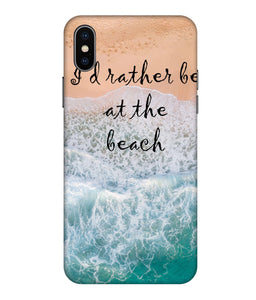 Apple Iphone Xs Max Beach Mobile cover