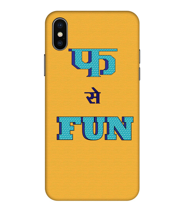 Apple Iphone Xs Max Fun Mobile cover