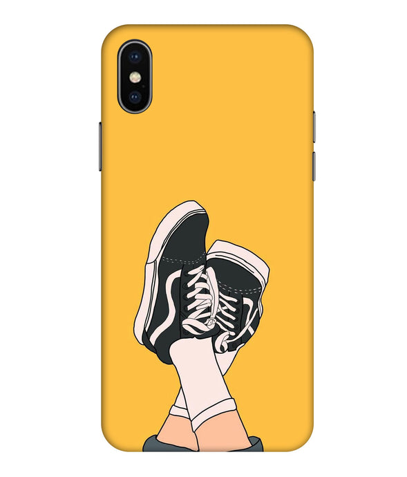 Apple Iphone Xs Max Shoes Mobile cover