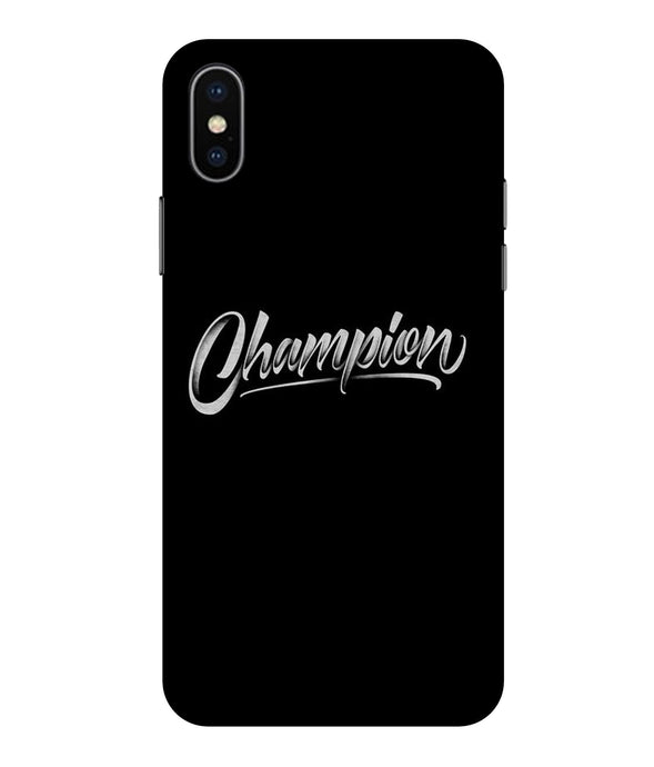 Apple Iphone Xs Max Champion Mobile cover