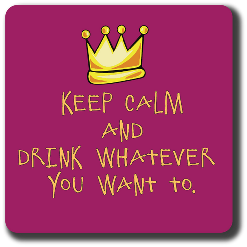 Keep Calm Coaster