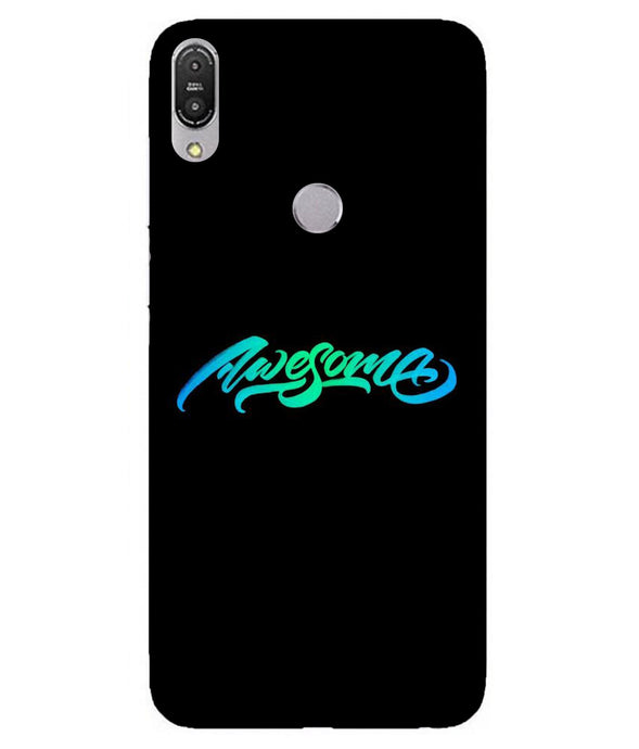 Zenfone Max Pro M1 Awesome Cover